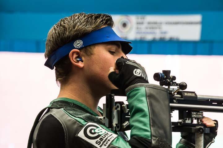 ISSF World Championship All Events 2014 - Granada, ESP - Finals 50m Rifle 3 Positions Men Junior