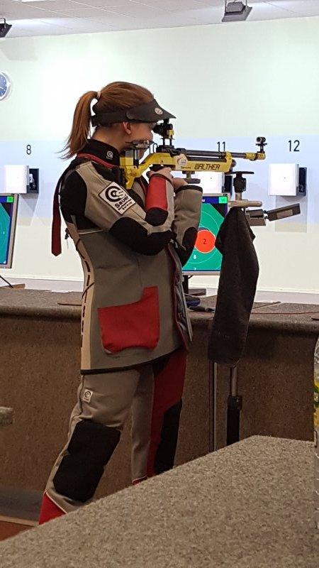 Larissa Weindorf, Luftgewehr stehend