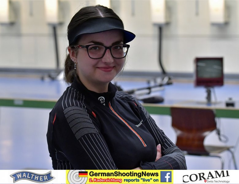 Cora Vonthron nach dem zweiten  LG Programm auf der DSB Sichtung 2020