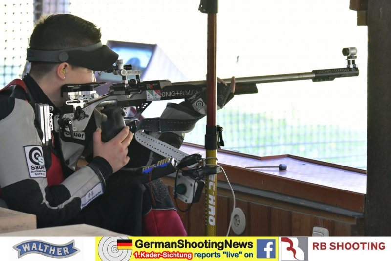 Lisa Müller Kniend auf der DSB Sichtung 2020